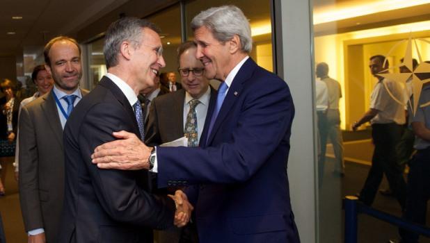 US Secretary of State visits NATO