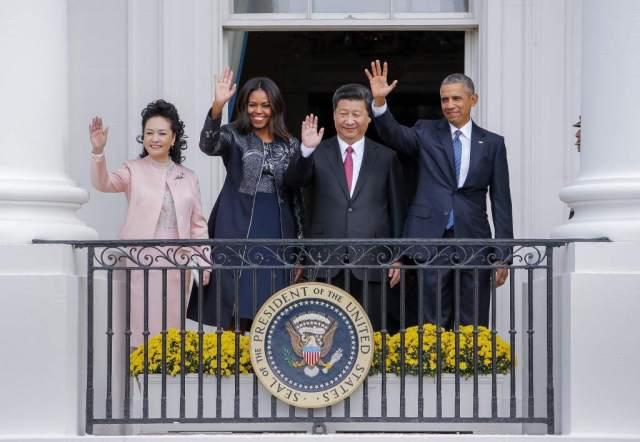 Xi y Obama