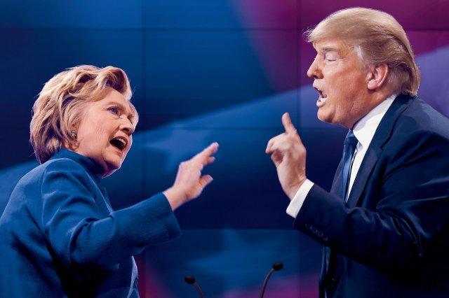Clinton-Trump