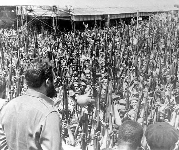 Fidel y su gente