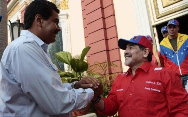 Maradona-con-Maduro