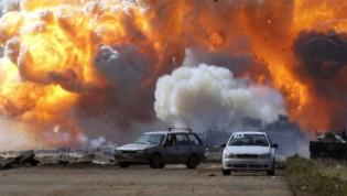 Bombas a Gaddafi