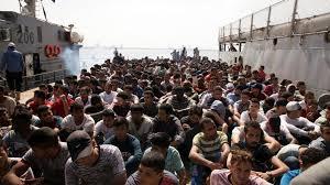 Resultado: miles de migrantes