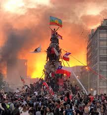 Bilderesultater for revueltas en chile